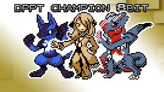 Pokemon Diamond, Pearl & Platinum - Battle! Sinnoh Champion [8bit]