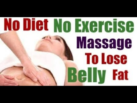 MASSAGE TO LOSE BELLYSimple Massage To Lose Your Belly FatTighten Up Loose Skin