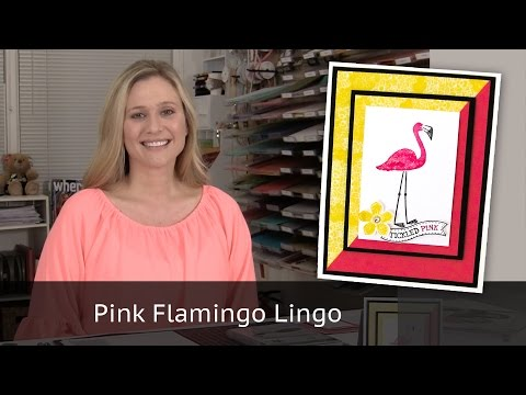 Pink Flamingo - Stampin' Up! Flamingo Lingo stamp set