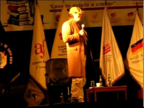 Jaime Bayli - Feria del Libro AREQUIPA (AZ) part 4