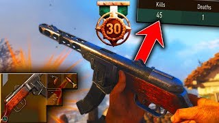 PPSH IS UNSTOPPABLE IN COD WW2! (45 K/D BEST PPSH CLASS SETUP) COD WW2 NUKE GAMEPLAY!