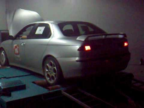 Alfa Romeo 156 2.0 20V Turbo dyno run