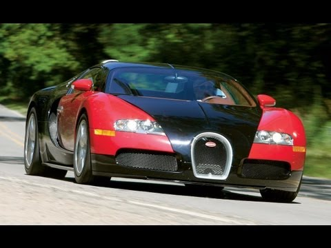 Bugatti Veyron 16.4 - Car and Driver Video