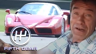 Tiff's Day Out At Ferrari With An Enzo | Fifth Gear Classic