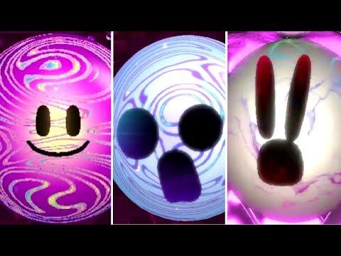 Kirby Star Allies - All Final Boss Forms + True Form
