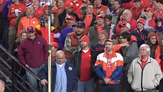 TCITV:  Clemson fans sing good bye to Gamecock fans