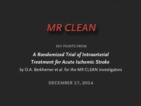 MR CLEAN — A Randomized Trial of Intraarterial Treatment for Acute Ischemic Stroke