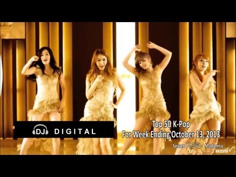 Top 50 K-pop - October 2013 Week 2 (2013-10-12) video