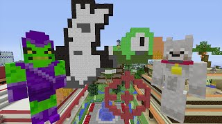 Minecraft Xbox Lets Play - Survival Madness Adventures - Duck Hunt [128]