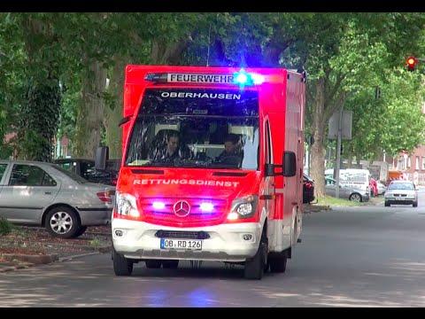 [Durchsage] RTW der Feuerwehr Oberhausen FW 1
