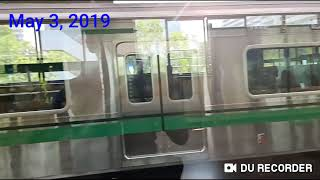 #LatePost Seoul Metro Line 2 Hyundai Rotem VVVF Series 2000 EMU TS#2426 depart Jamsillaru (5/3/19)
