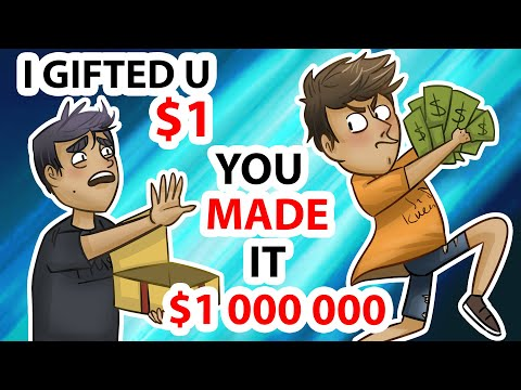 My Gift Costing $1 brought My Friend $1 000 000 | Animated story about friendship