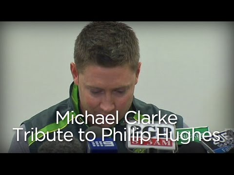 Michael Clarke makes emotional tribute to lost team-mate