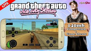 140mb Gta Vice City Stories Lite For Psp Android   Highly Compressed   Best Psp Settings And Cheats 3.85 MB