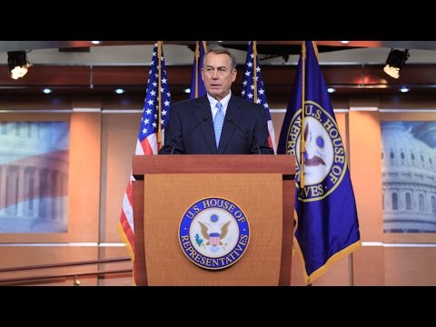 Boehner Contrasts House's Balanced Budget w/ POTUS' Spending Plan