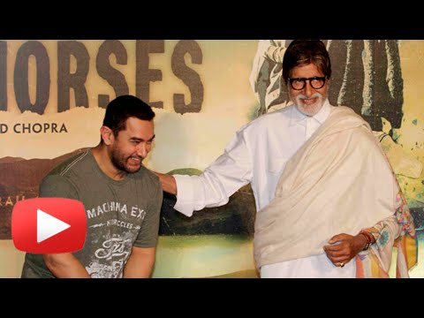 Amitabh Bachchan's Interesting COMMENT on Aamir Khan | Aamir Khan Birthday 2015