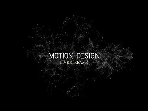 Announcing the Motion Design Live Streams | SEP. 20,21,22