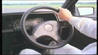 MG Montego 2.0 Litre Turbo, A demonstration by Steve Soper