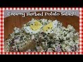 Creamy Herbed Potato Salad~Creamy Potato Salad Recipe~Summer Picnic Salad~Noreen's Kitchen