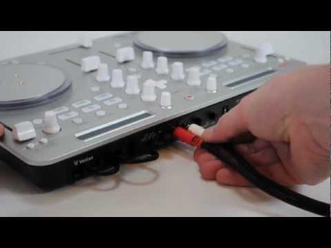 How to setup the Vestax Spin2 DJ Controller and algoriddim djay