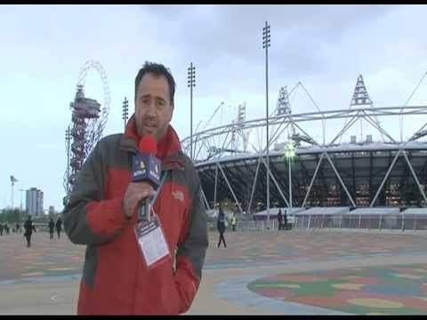 Official Opening Ceremony of London 2012 Olympic Stadium.