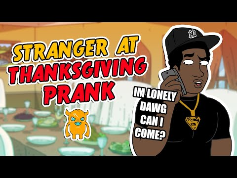 Black Stranger at Thanksgiving Compilation Prank - Ownage Pranks