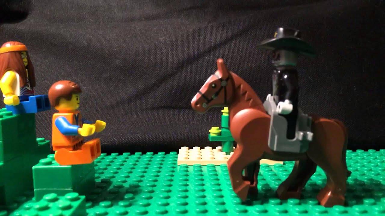 Cowboy Robot Movie Lego Stop Motion Movie Cowboy
