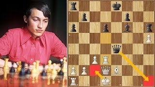The Future of Chess Was Foretold Early || Karpov vs Hort || Alekhine Memorial (1971)