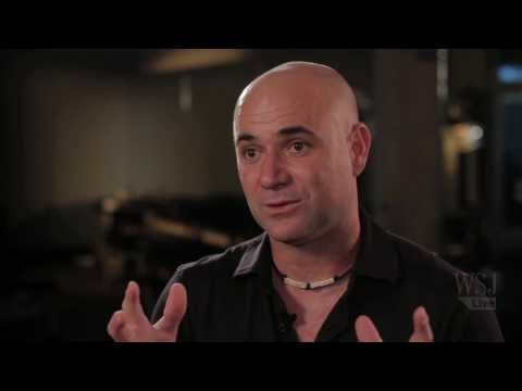 Andre Agassi Talks to WSJ's Lee Hawkins about Post-Career