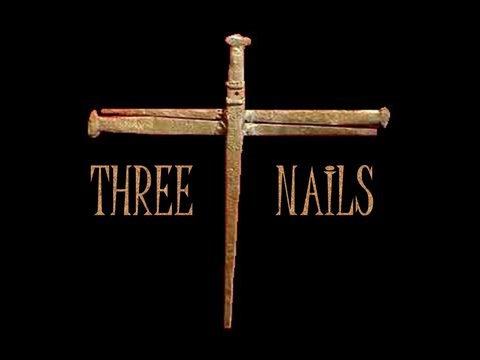 Three Nails Writing of Three