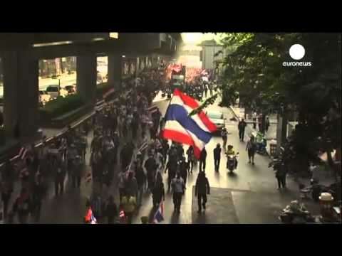 Thailand blast injures anti-government protesters