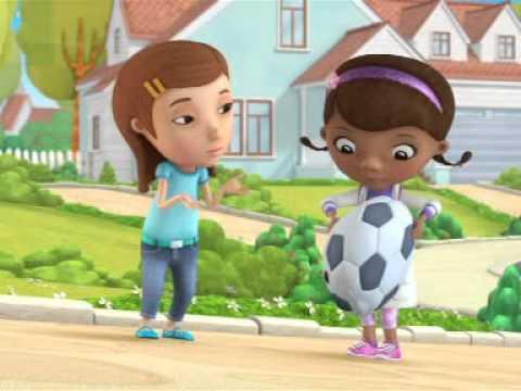 Klinika Dla Pluszaków - Piłka Nożna. Oglądaj W Disney Junior!