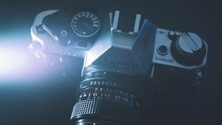 Canon AE1 Program Analog Film Camera, Cinematic Showcase - 4K
