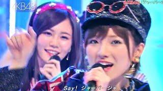 【Full HD 60fps】 AKB48 ジャーバージャ <フルコーラス歌詞付> (2018.03.17)