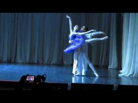 """Адажио из балета """"Раймонда"""" - Куликова К. и Кирбитов Н."""