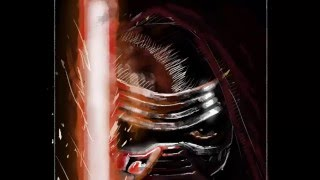 Kylo Ren (Star Wars Episode 7) Speedpainting!! By Davide Ruvolo Speedpainting!!