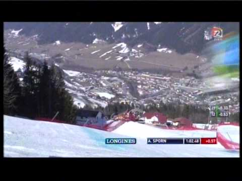 Downhill of Andrej Sporn in Schladming 2012
