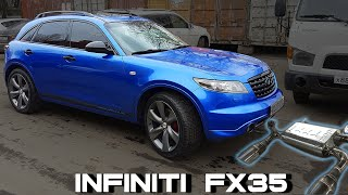 Fabricating high performance exhaust system with Joombra mufflers | Infiniti FX35