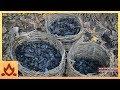 炭を原始的な方法で作る男性が凄過ぎる