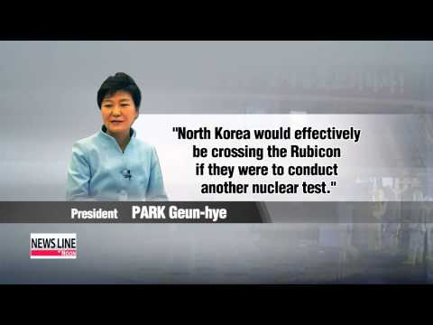 President Park warns of nuclear domino effect in East Asia if Pyongyang conducts nuke test