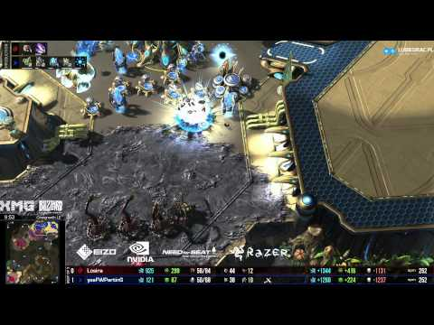 Special Tactic - PvZ Losira vs Parting -g2- Over -  Starcraft 2 HD