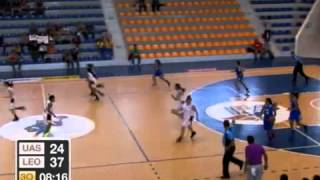 Basquetbol UAS vs ITESM León Femenil Universiada Nacional 2013