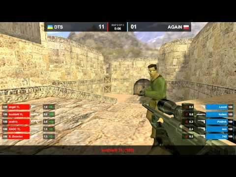 DTS vs. AGAiN map 4 dust2 ICSC 9 FINAL