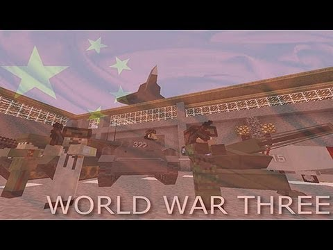 Minecraft Movie - World War