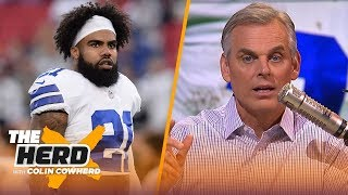 Colin on Zeke's 'organizational tension' and immaturity, reveals Super Bowl bubble | NFL | THE HERD