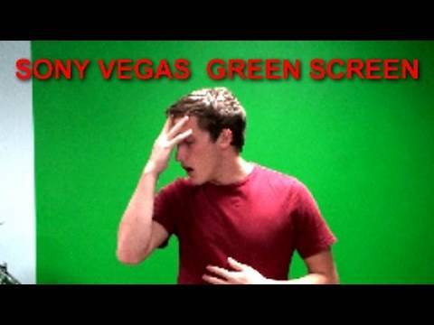 How to use a Green Screen in Sony Vegas!