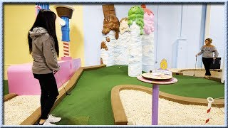 THE MOST HOLE IN ONES EVER IN A MINI GOLF GAME! | Brooks Holt