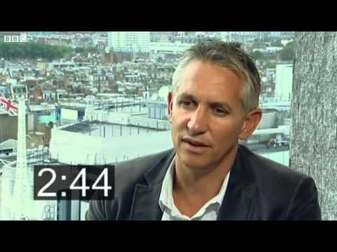 Five Minutes With Gary Lineker