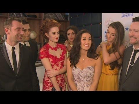 NTAs: Coronation Street cast, including Michelle Keegan, discuss Hayley Cropper death