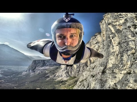 Wingsuit proximity flight in Northern Italy